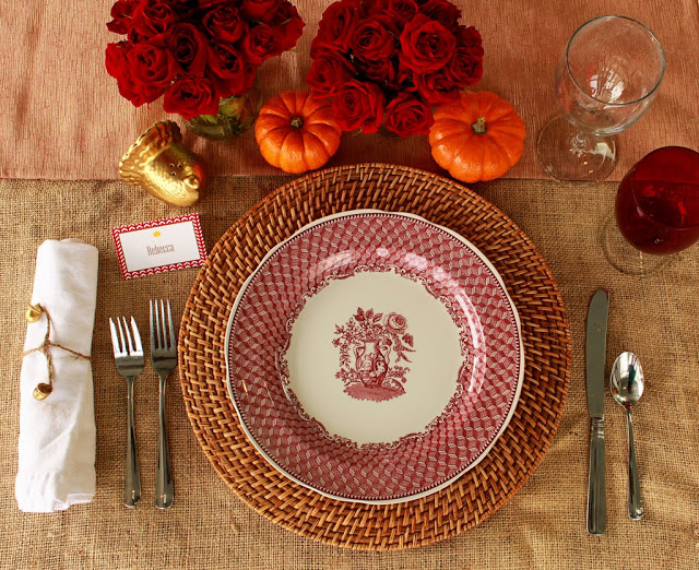 Thanksgiving Table Mirabelle Creations