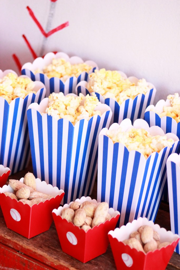 06-Baseball Party (Popcorn) Mirabelle Creations