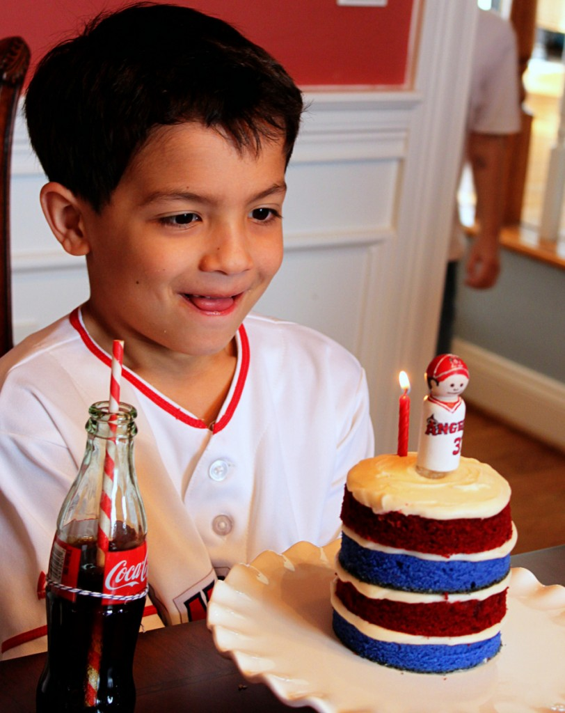 15-Baseball Party (Cake) Mirabelle Creations