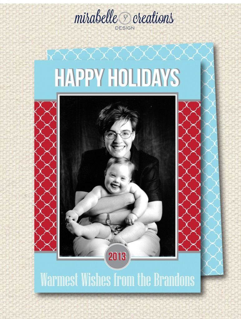 Holiday Card Mirabelle Creations