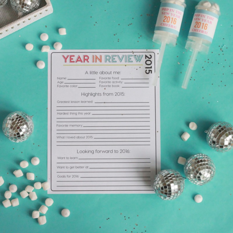 Holidays :: New Year's Eve Ideas for Kids