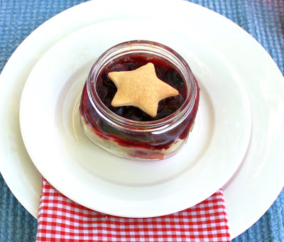 Mason Jar Cherry Pie