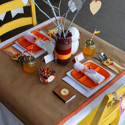 Free Printable Thanksgiving Kids Table Collection