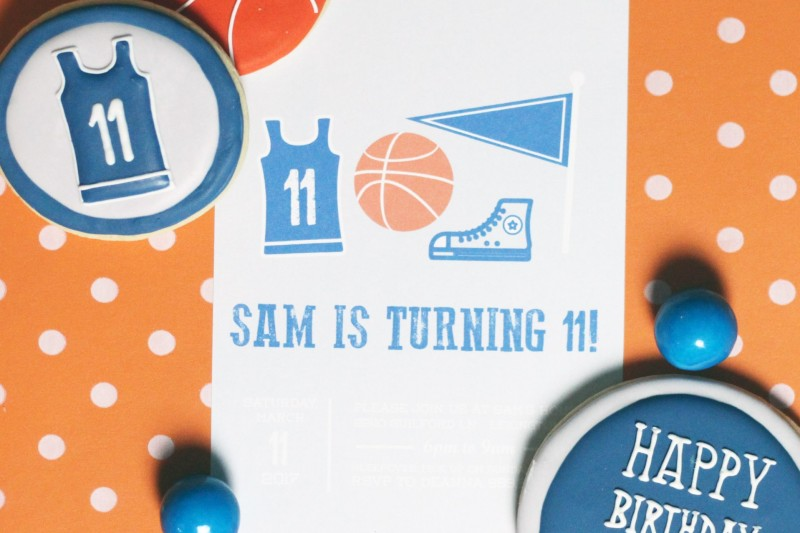 Basketball Printable Party Collection by Mirabelle Creations