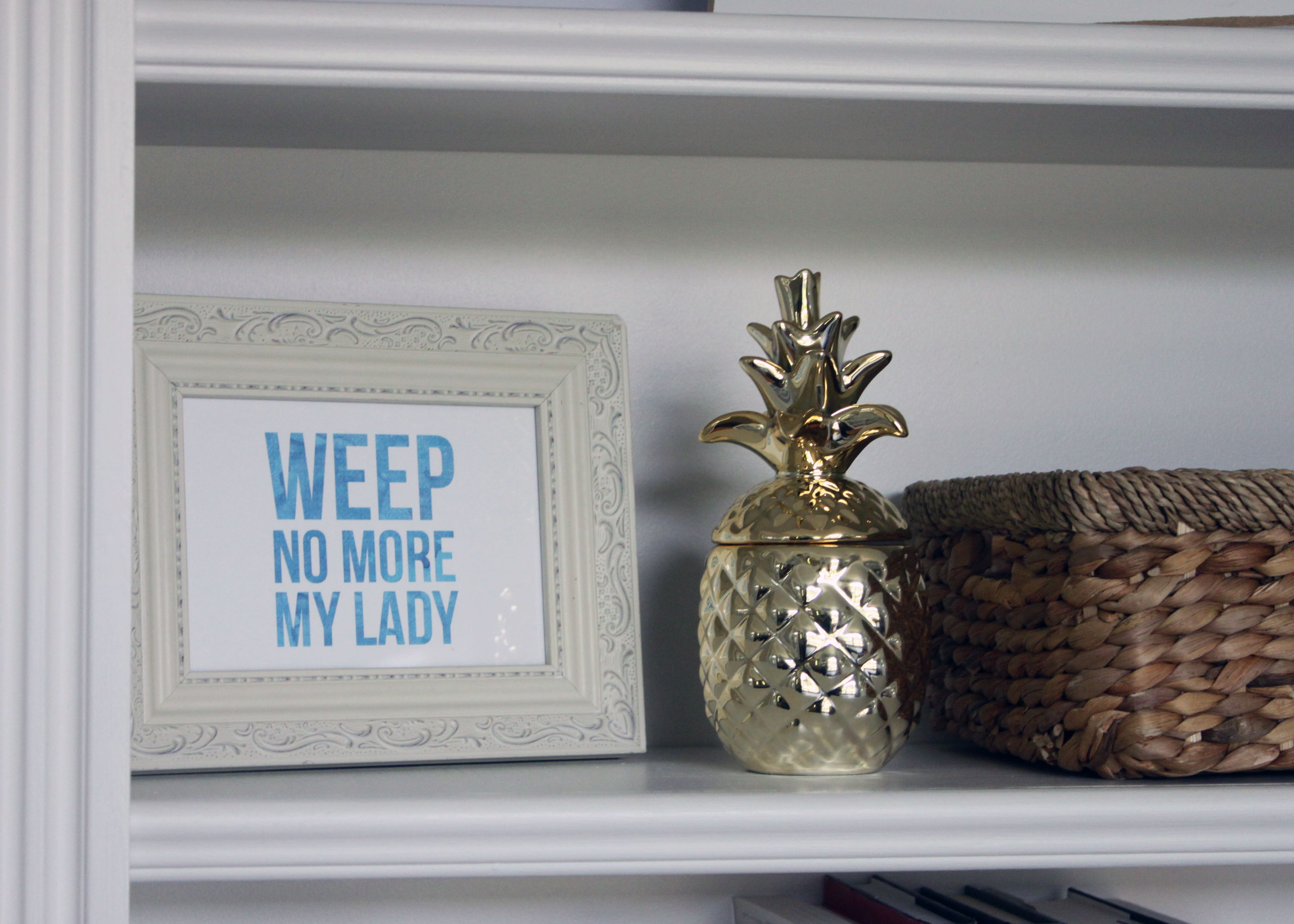 Home Office Decor Refresh