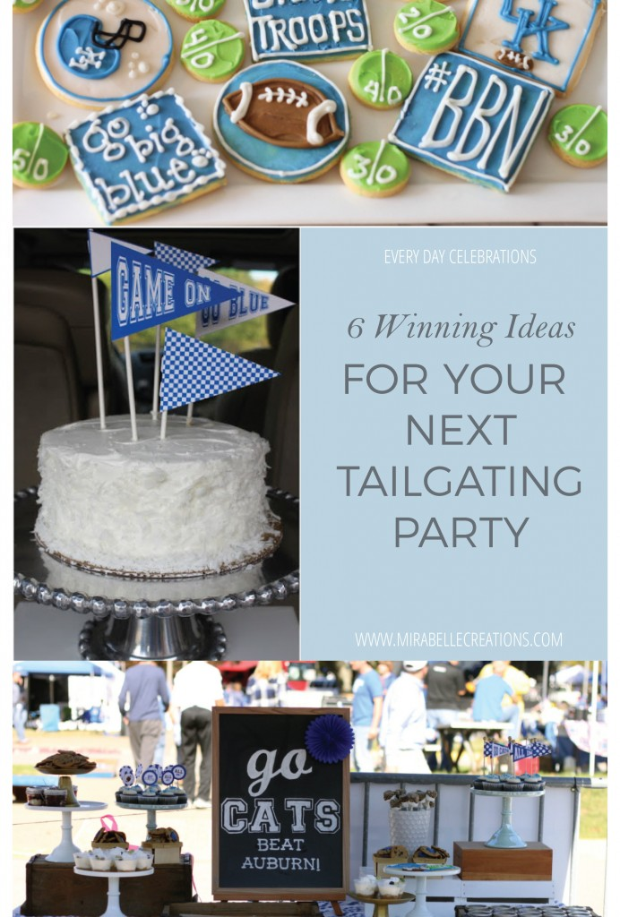 tailgating-party-ideas-mirabelle-creations-2 & 6 Winning Ideas for Your Next Tailgating Party - Mirabelle Creations