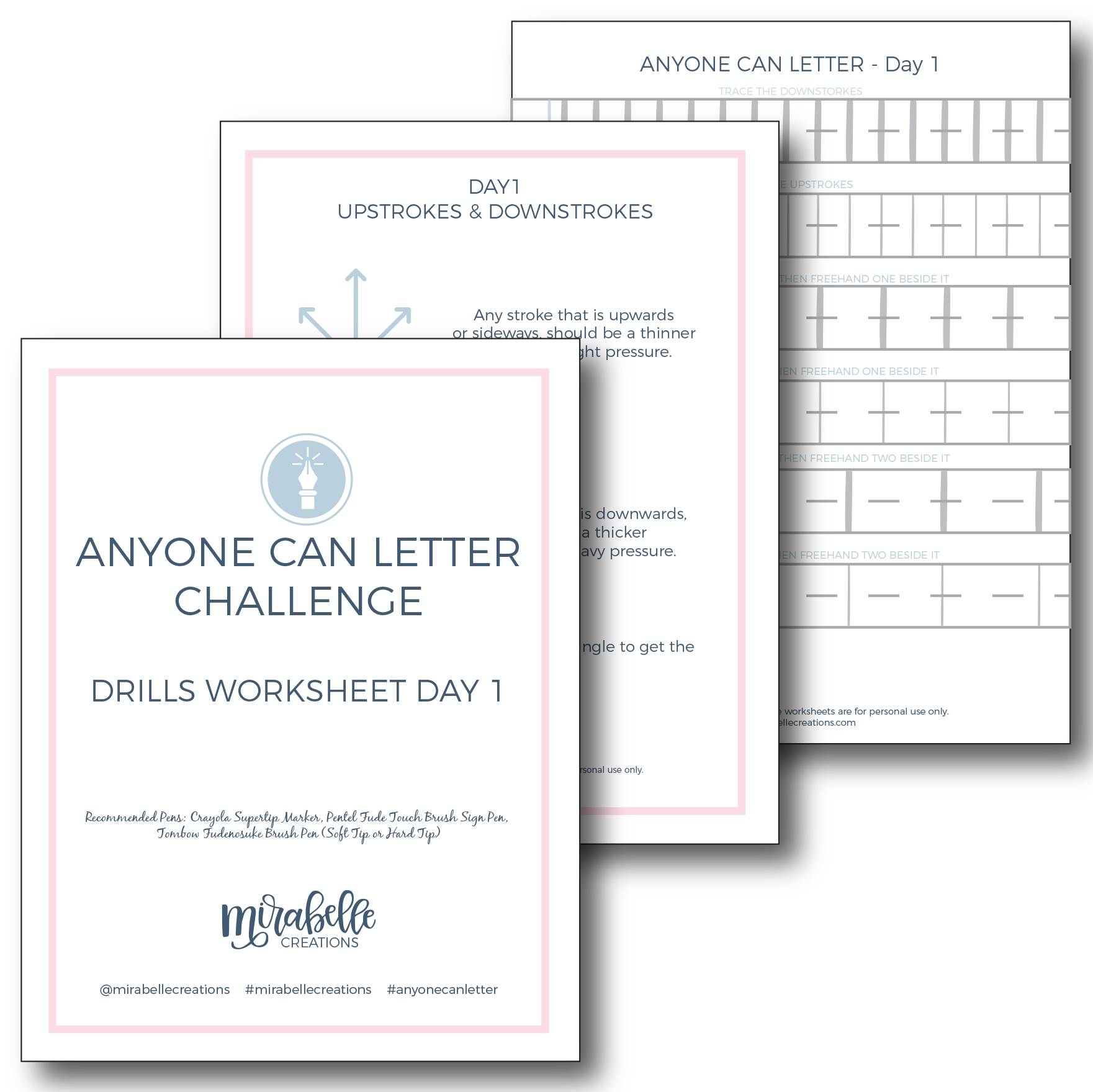 Anyone Can Letter Worksheet Samples