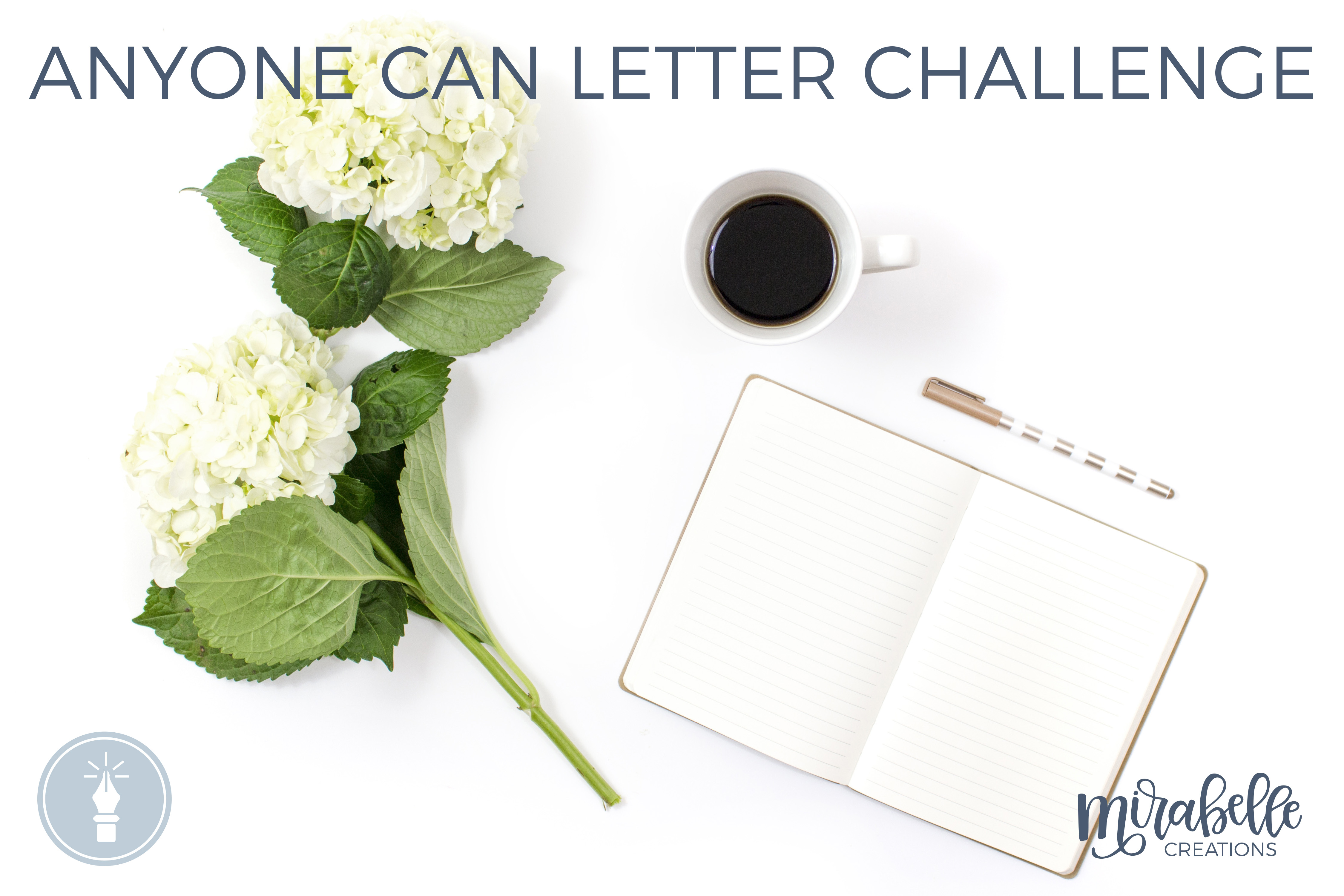 The #AnyoneCanLetter Challenge
