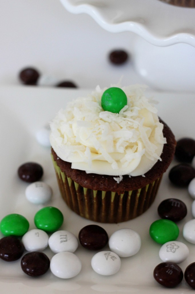 Coconut Chocolate Cupcakes by Mirabelle Creations