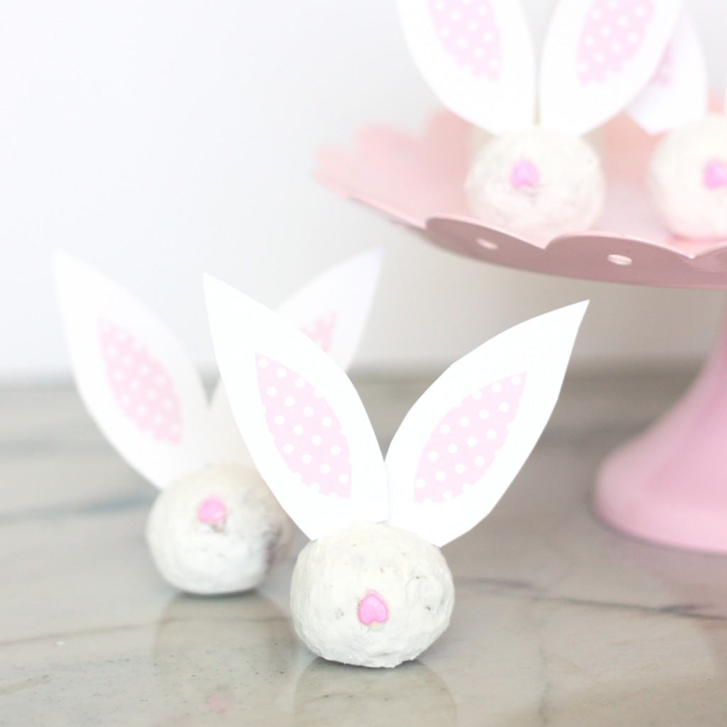Easter Bunny Ear Donuts by Mirabelle Creations