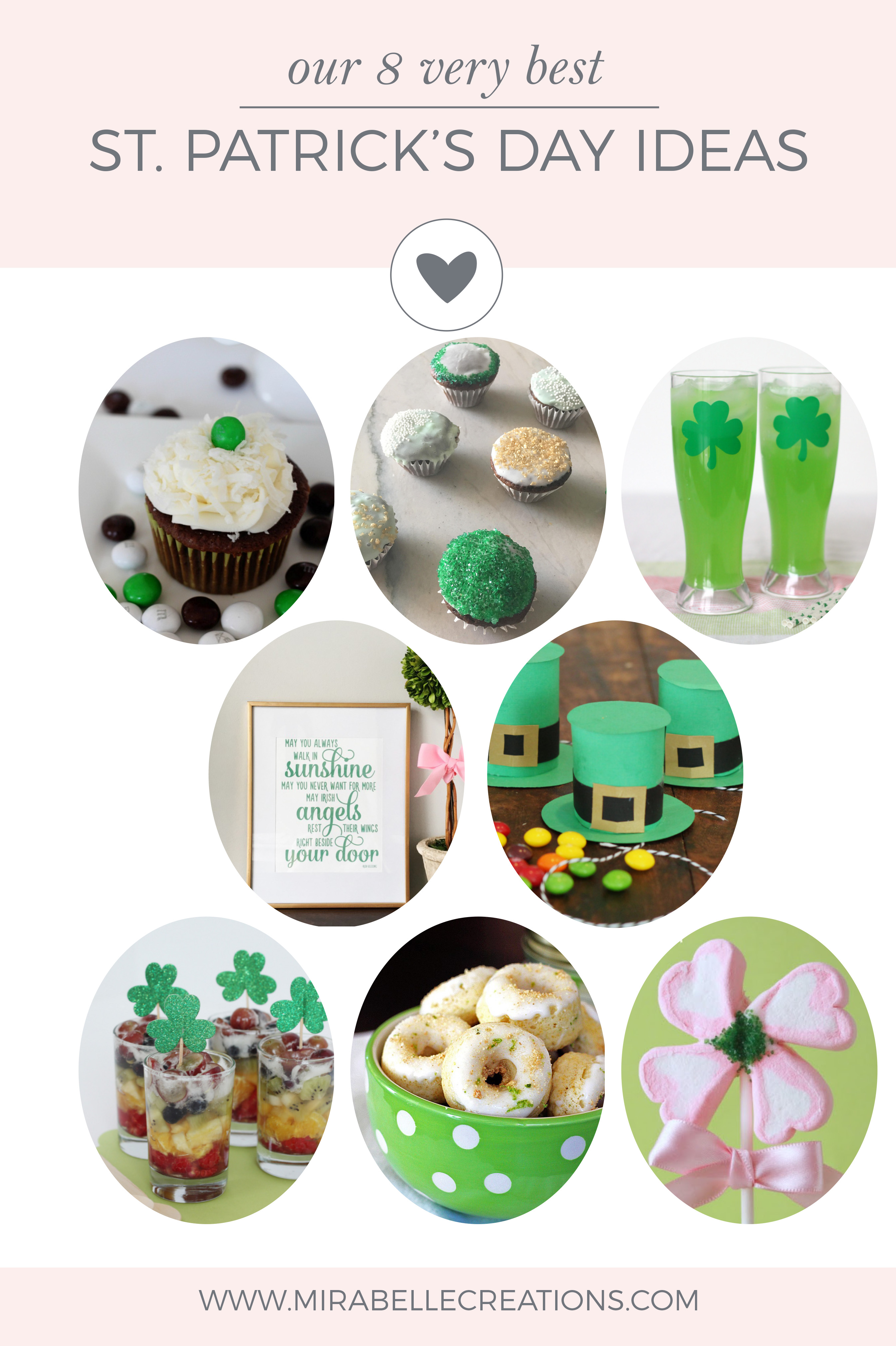 Our 8 Very Best St. Patrick's Day Ideas by Mirabelle Creations (including a free printable)