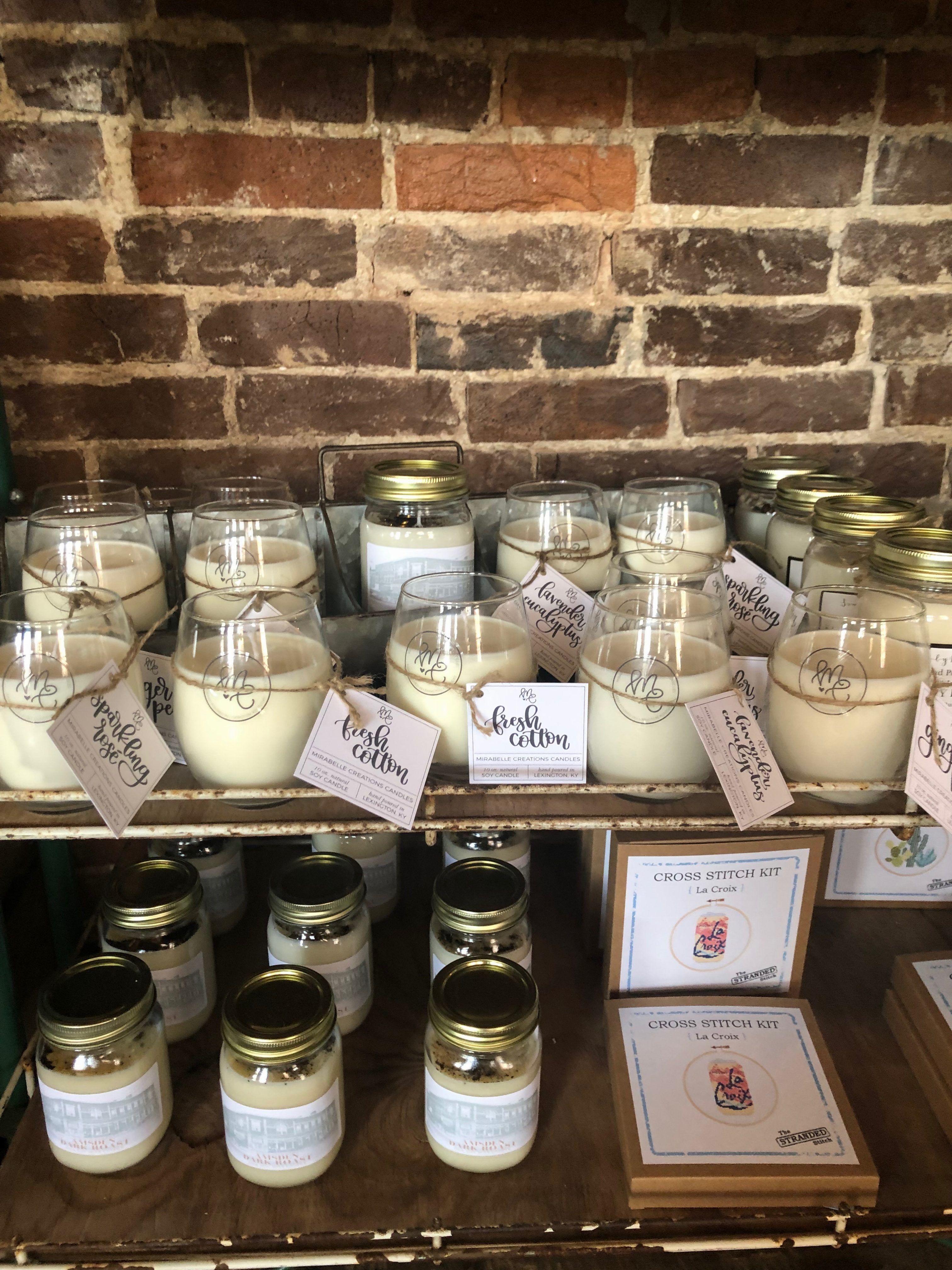 Mirabelle Creations Candles in Shops: The Amsden in Versailles, Kentucky