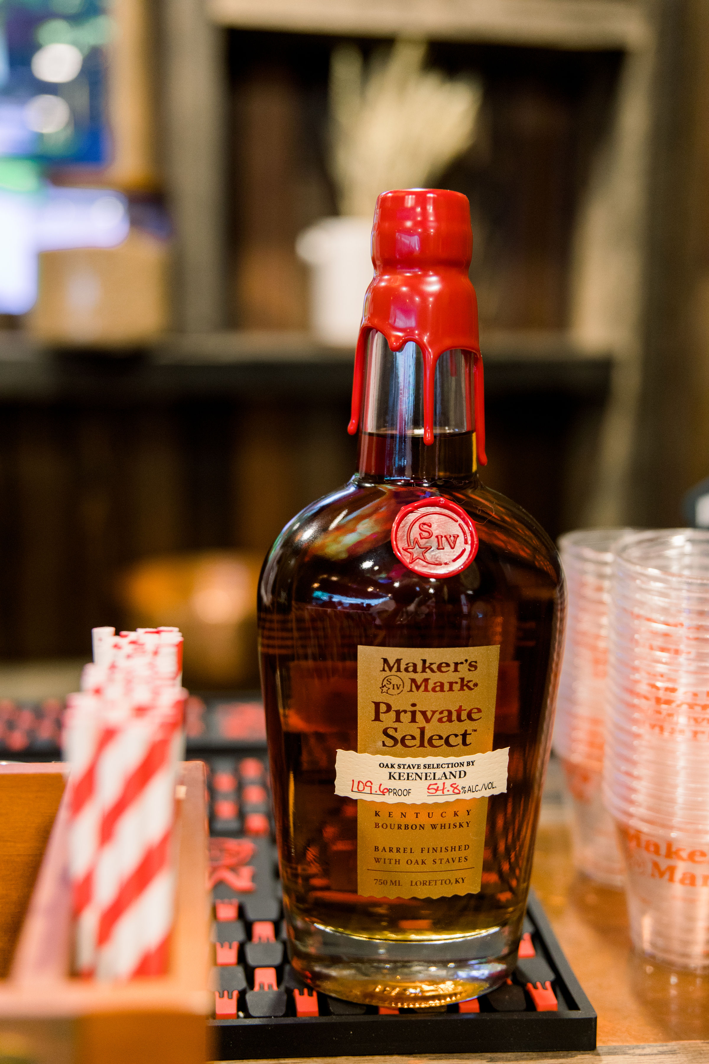 Makers Mark Private Select Bourbon for Derby Day at Keeneland. Photo by The Malicotes