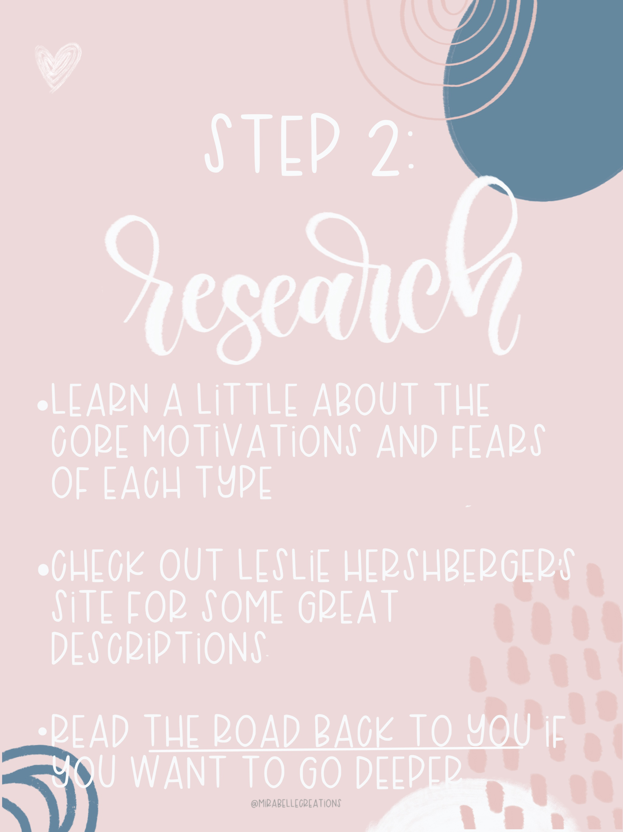 Finding Your Enneagram Type - Step 2: Reserach
